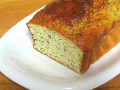 One Perfect Bite: Three Savory Quick Breads the French Way -- Herb Bread