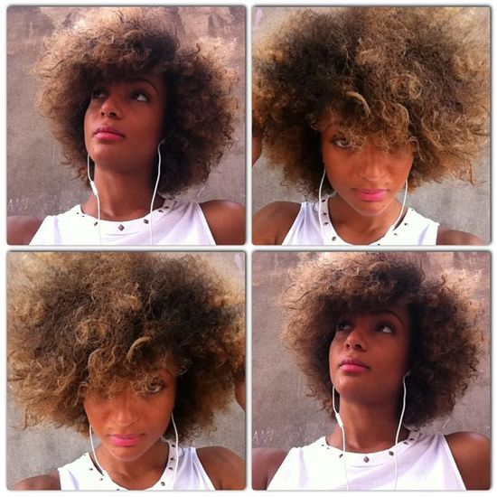 Natural Hair Styles and Fashion