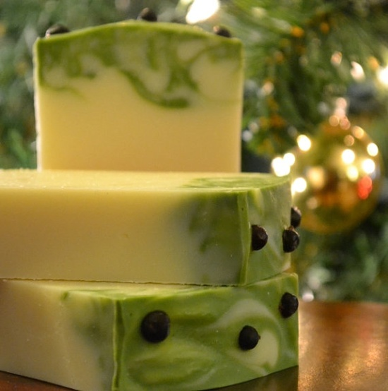 Juniper Berry and Grapefruit Handmade Soap