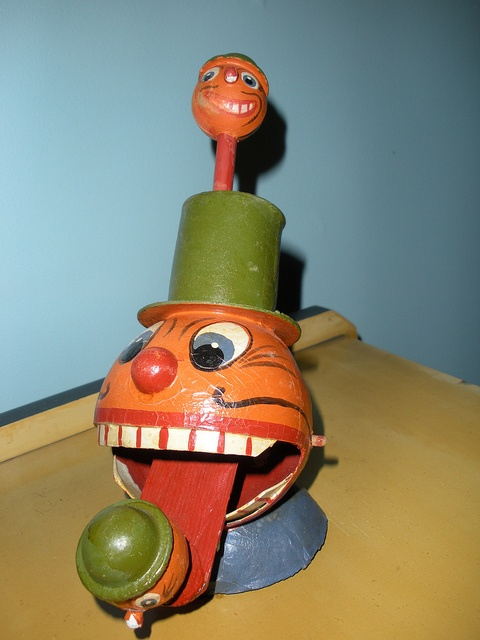 Vintage German Mechanical JOL toy.