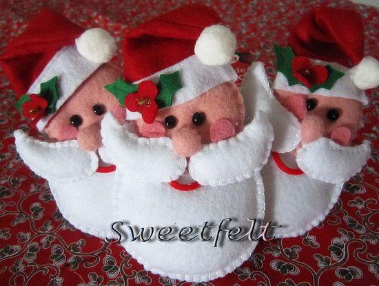 Santa - felt