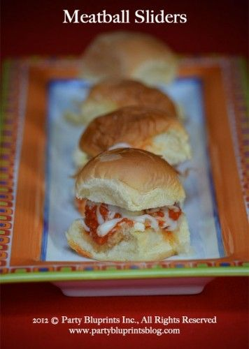 Meatball Sliders