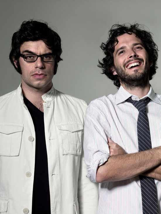 conchords... these guys are hilarious