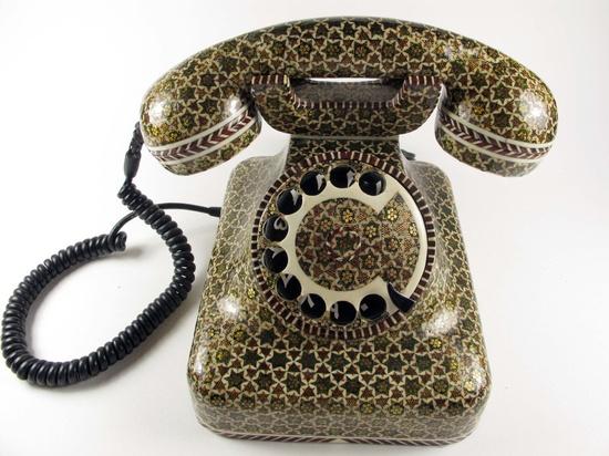 RARE VINTAGE Hand Craft Bakelite Phone