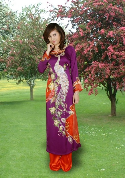Love is an act of endless forgiveness, a tender look which becomes a habit :D / Ao Dai Quy Ba - CM432 - aodaihoanguyen.co...