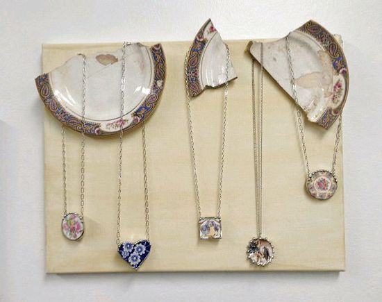 Dishfunctional Designs: Creative Ways To Display Jewelry On Gallery Walls