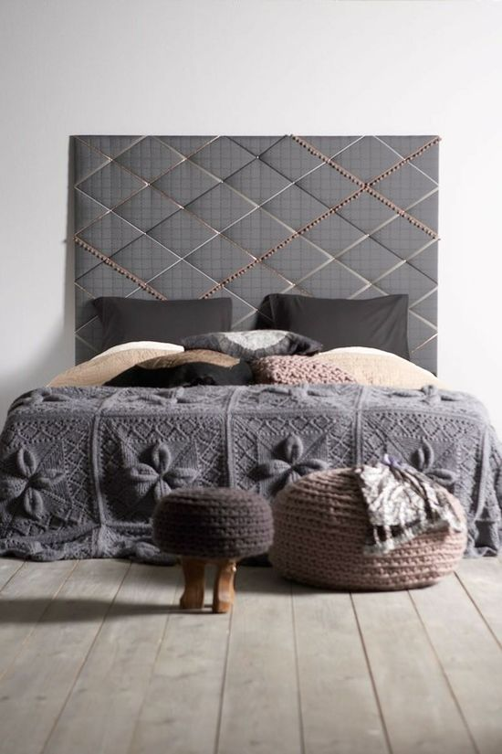 62 DIY Cool Headboard Ideas. Love it.