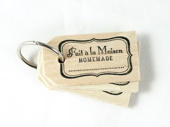 homemade gift tags, $5.00