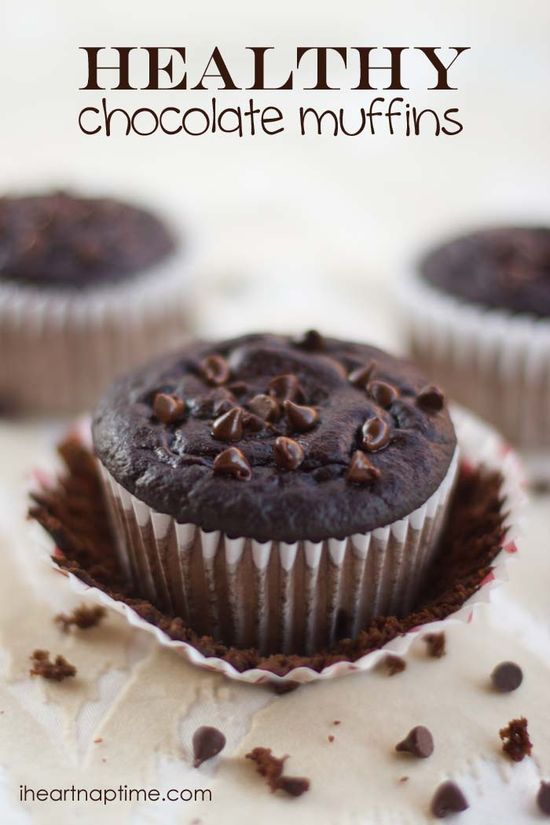 Healthy chocolate muffins ( only 95 calories)!!