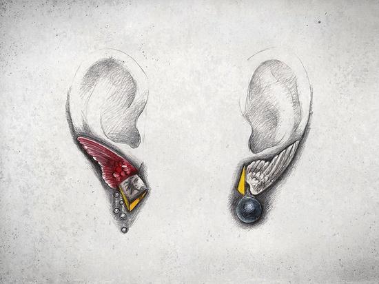 Maddalena Rocco - orecchini Hypnos