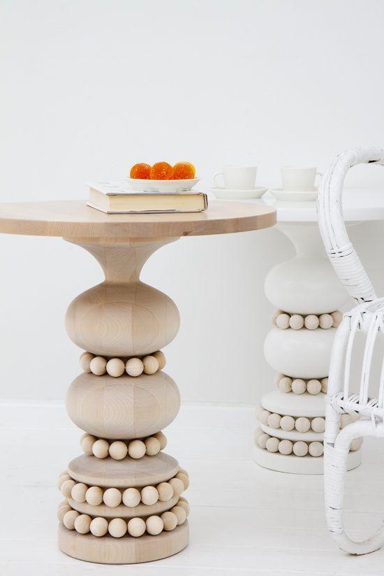 Wooden Keisarinna tables - Aarikka #floor interior design #floor design ideas #floor decorating before and after