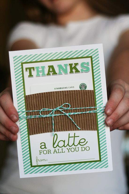 for coffee lovers. ...could include a gift card  great for teacher gift now need good quotes for subway and chipotle gift cards or the teacher.