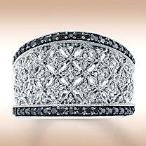 Love black diamonds jewelry