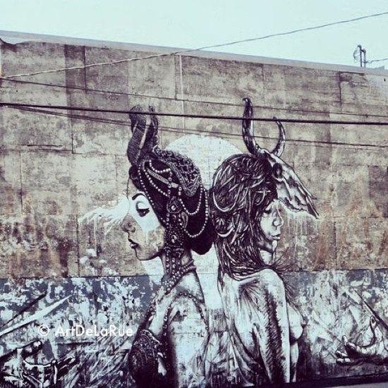 CITY OF THE ANGELES street art graffiti