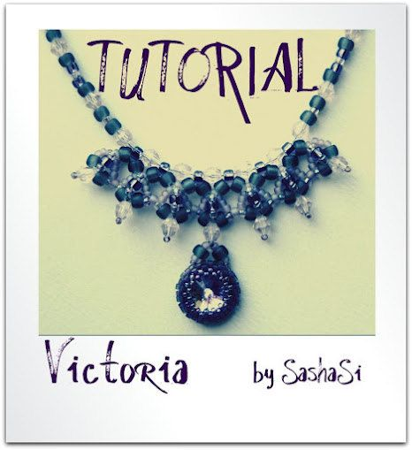 Beading Tutorial - Victoria Necklace.