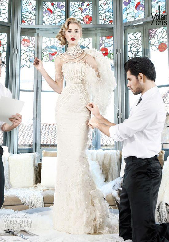 YolanCris 2013 Wedding Dresses — Couture