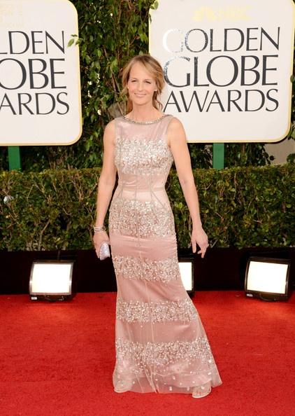 Helen Hunt Wears Dolce & Gabbana at the 2013 Golden Globes