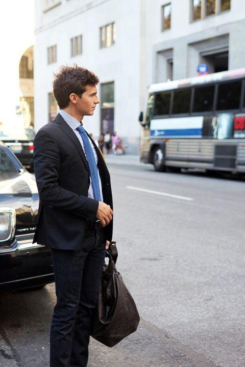 Gentlemen Style. Men's Fashion