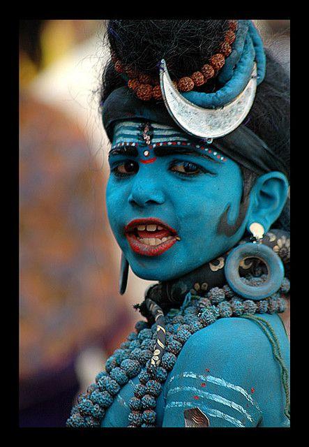 *Pushkar Faire, Shiva boy.