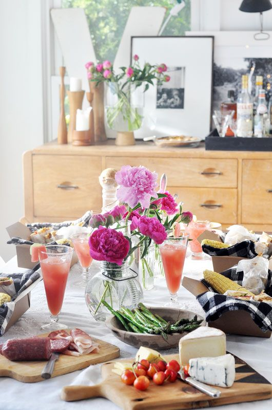 indoor summer picnic / sfgirlbybay