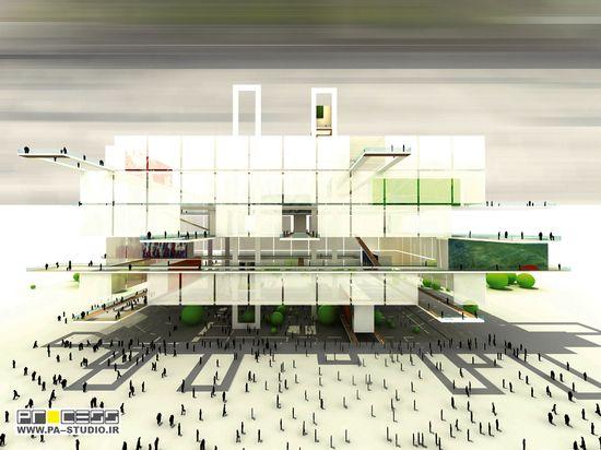 New Taipei City Museum of Art Proposal / PA Studio