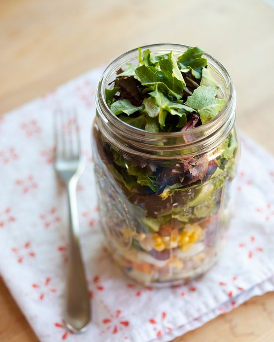 How to Pack the Perfect Salad in a Jar Cooking Lessons from The Kitchn