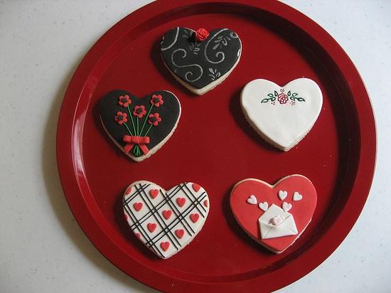 Valentine cookies ... sweet!!