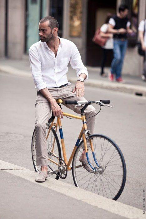 Man On A Bike.