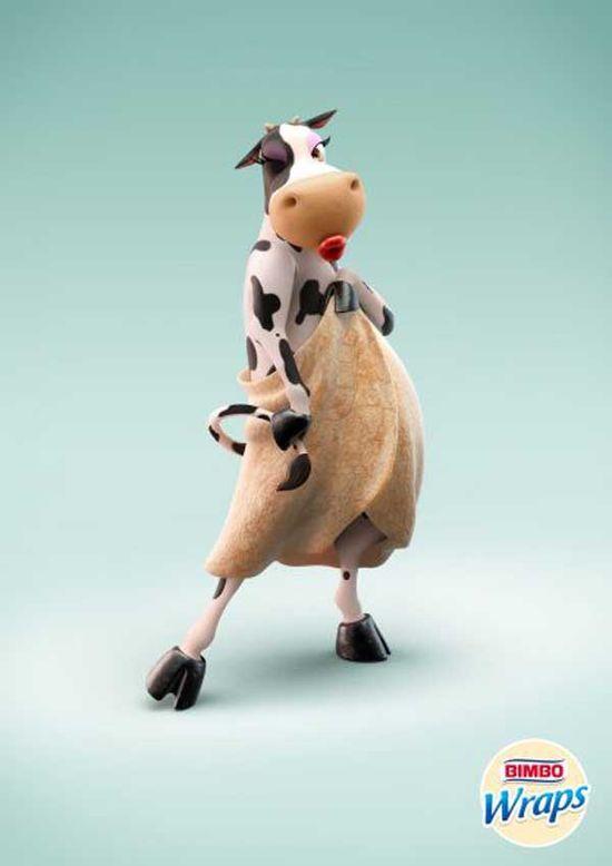 Bimbo Wraps – Cow