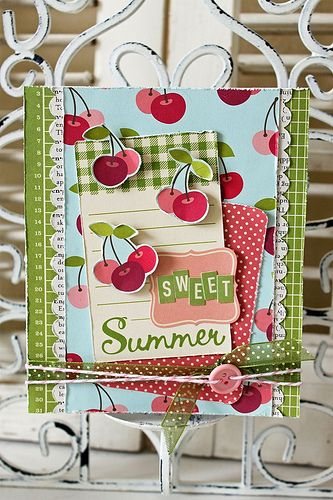 Cute Cherry card....