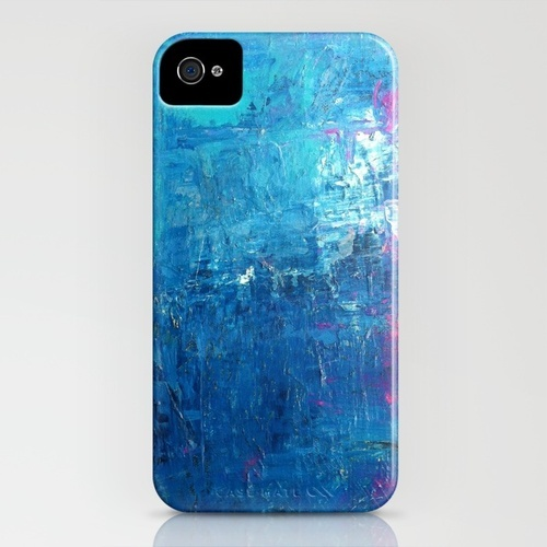 I love all of these! WITH THE TIDES iPhone Case #JennyVorwaller #Society6