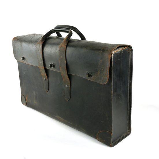 // vintage document bag