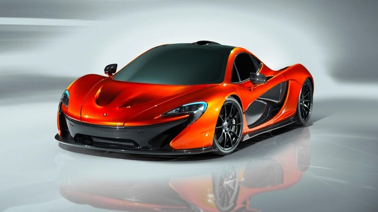 McLaren P1 supercar emerges for its first sexy shots