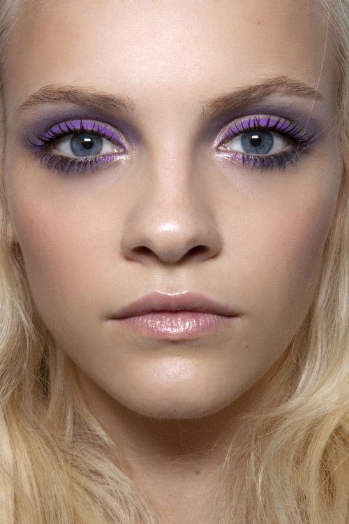 Purple Makeup for Brown Eyes Tutorial