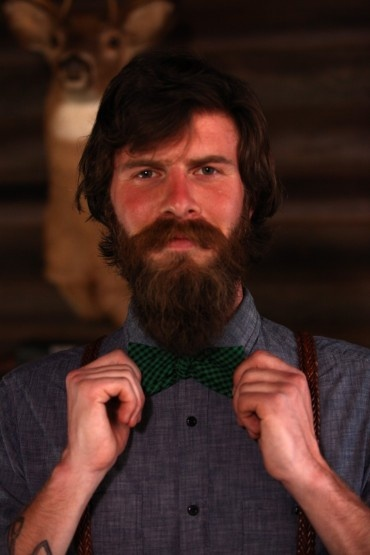 Handmade bow tie by Forage