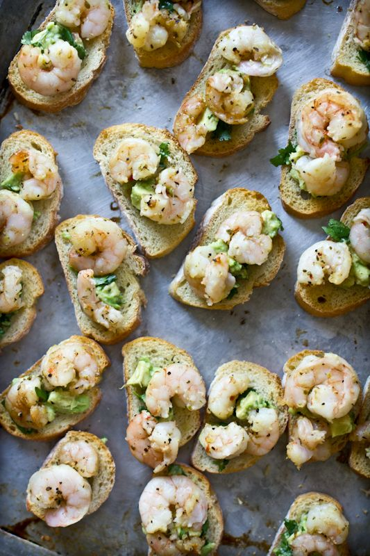Cuban Shrimp Bruschetta by adventures-in-cooking #Bruschetta #Shrimp