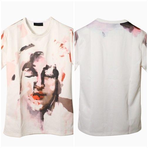 Graffiti Print Tee shirt