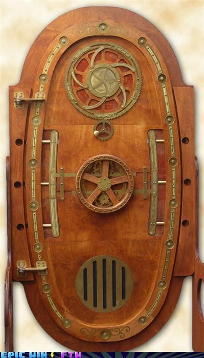 Steampunk door #steampunk #style
