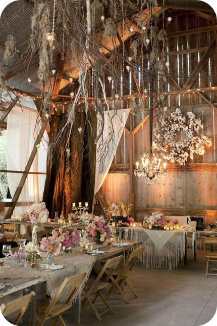 Chic barn location