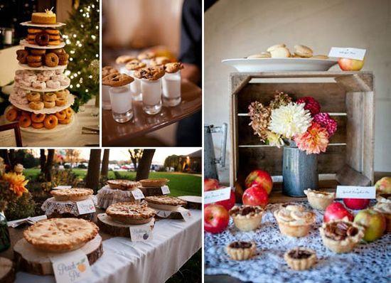 fall wedding cakes alternatives