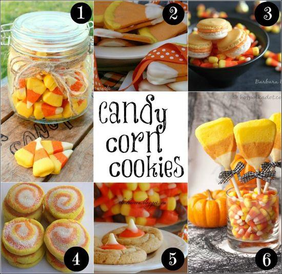 Candy Corn Cookies on HoosierHomemade.com