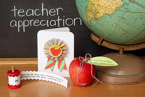 Teacher Appreciation Ideas.