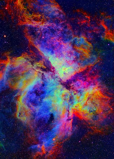 Eta Carinae Nebula  by Starstuff. Planning on buying this poster for my room :) #galaxy #space #poster #print #rainbow #rave