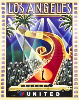 Los Angeles Vintage Poster