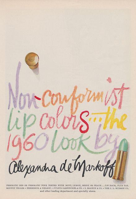 vintage ad. so rad. #nonconformist