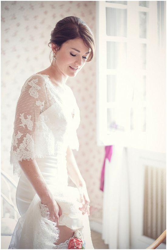 Pronovias vintage style bride