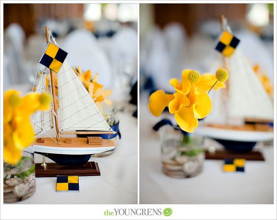 FantaSeaYachts.com loves these great little ships for placecards. Great idea for place cards or wedding favors- sail boat. #wedding boat #boatsdotcom