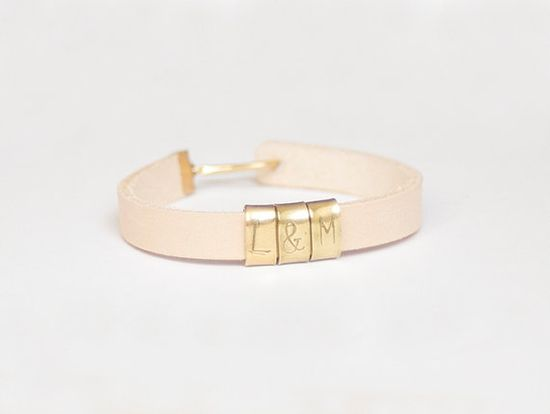A bracelet with a personal touch.