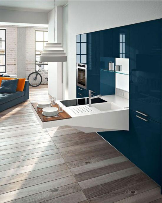 Modern kitchen design image
