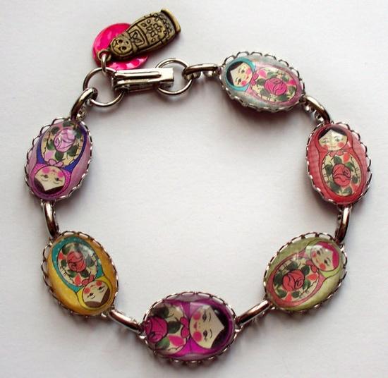 Russian boho bracelet